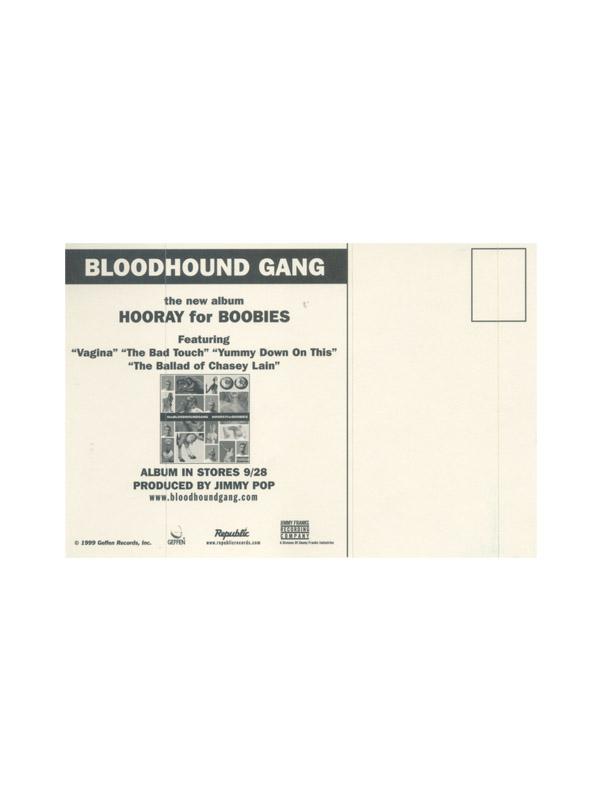 1999 Hooray For Boobies Postcard/sticker