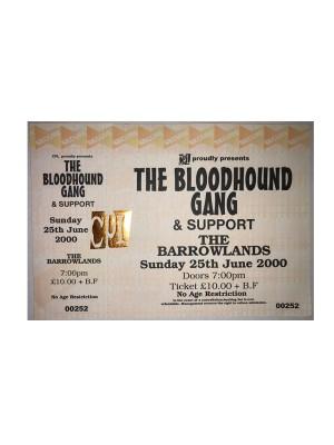 2000 Barrowlands Ticket