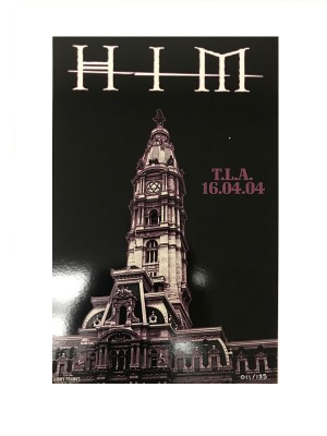 HIM - Limited edition print from first US Tour (TLA)