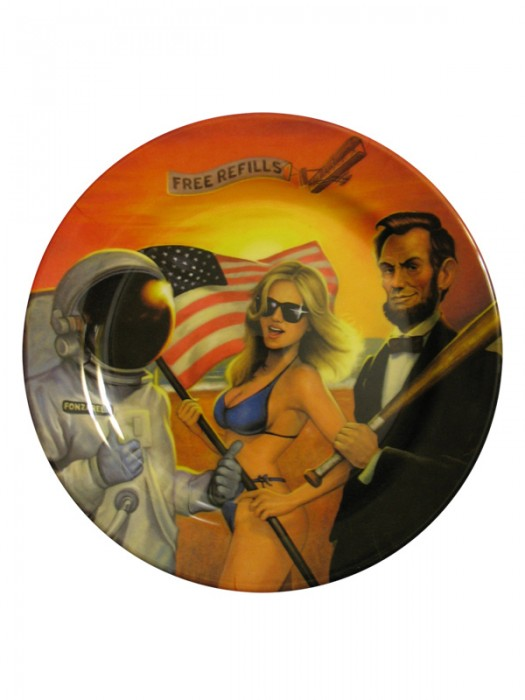 American Bitches Collector's Plate