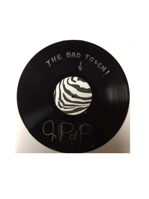 """The Bad Touch - warped, signed 12"""""""