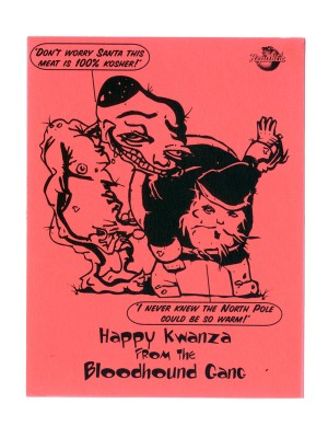 Bloodhound Gang 1996 Holiday Postcard