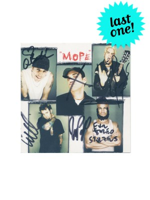 Mope Signed German CD Single