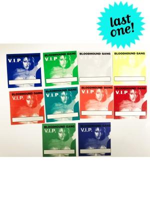 2000 Hooray For Boobies Tour Chasey Lain V.I.P. Passes (Complete Set)