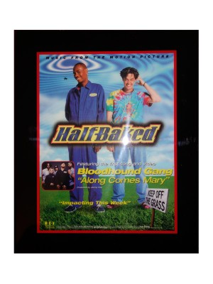 Half Baked Promotional Plaque