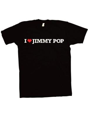 I Love Jimmy Pop T-Shirt For Girls