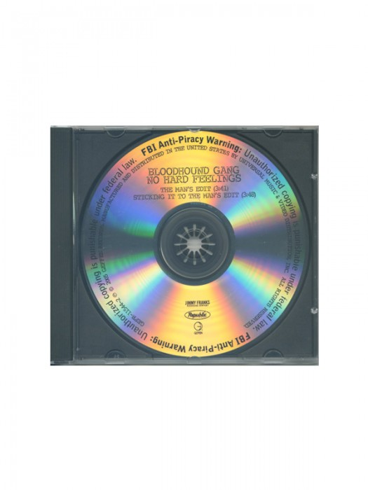 No Hard Feelings promotional CD single