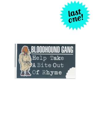 Bloodhound Gang Take A Bite... Promotional Sticker