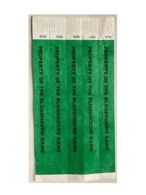 Property of the Bloodhound Gang VIP Wristbands (pack of 5)