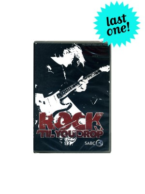 Rock 'Til You Drop DVD