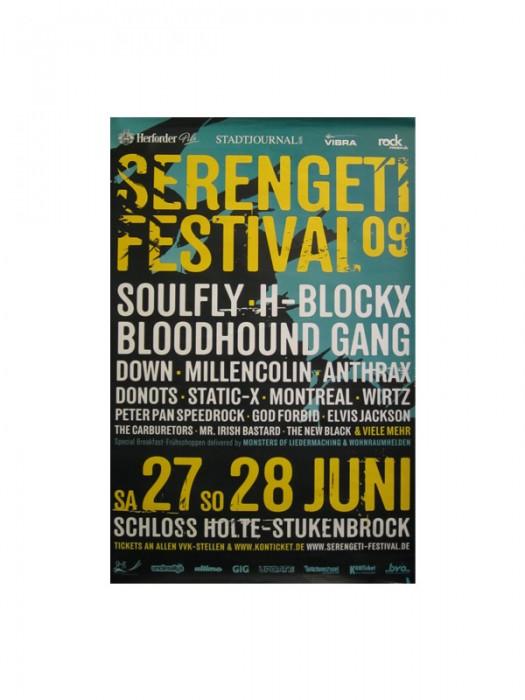 Serengeti '09 Festival Poster