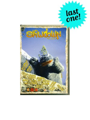 Showdown Snowboarding DVD