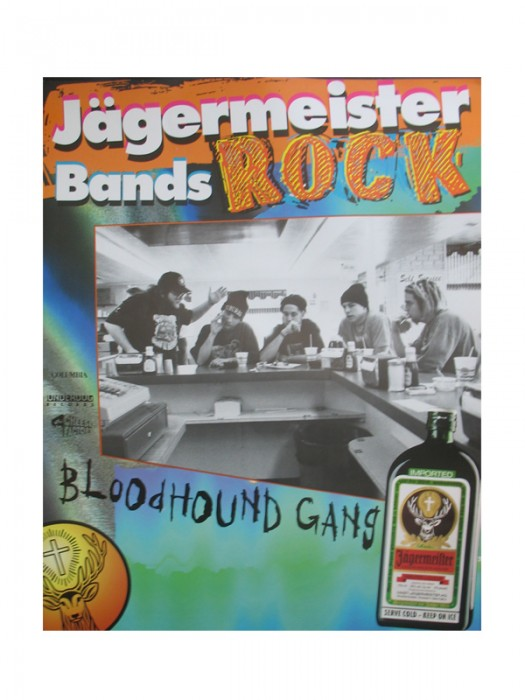 Jagermeister Bands Poster