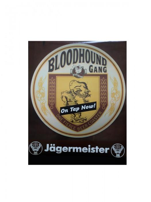 Jagermeister One Fierce Beer Coaster Poster
