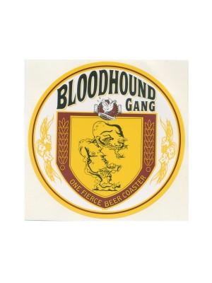 One Fierce Beer Coaster Sticker