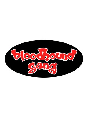 Bloodhound Gang Sticker (pack of 5)