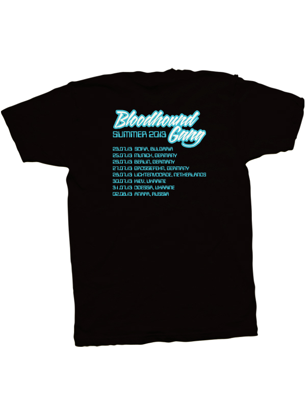 2013 European Summer Tour T-Shirt