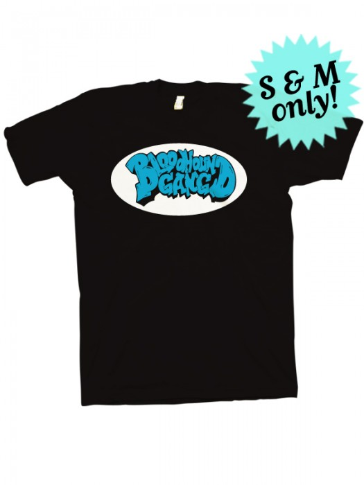 No Reason To Live But We Like It That Way T-Shirt (Black with blue)